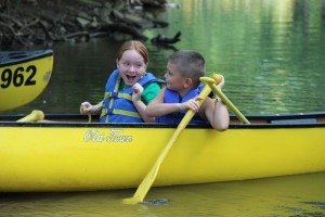 Family Fun Canoeing