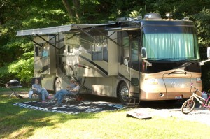 Full Service RV Site