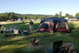 Open Field Tent Site
