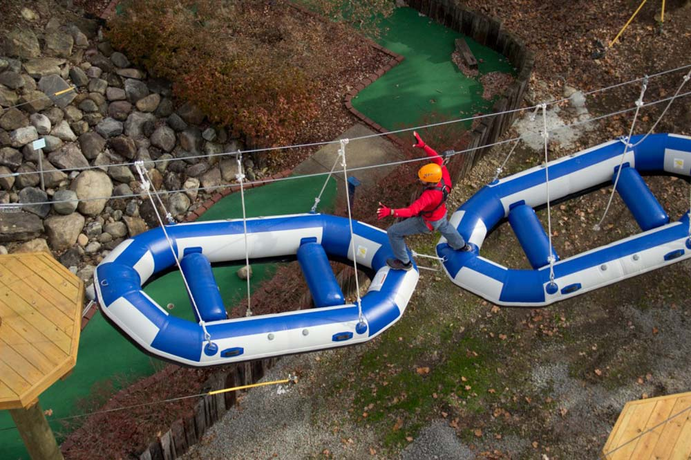 Aerial Park Open Mohican Adventures